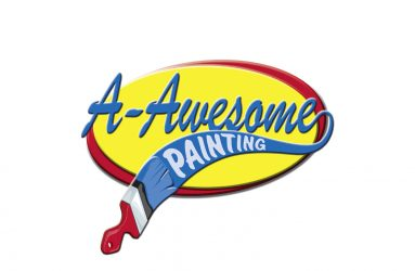 Logo design sample, painting services